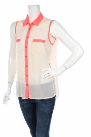 Γυναικείο πουκάμισο Ajc, Μέγεθος L, Χρώμα Λευκό, Τιμή 3,16€