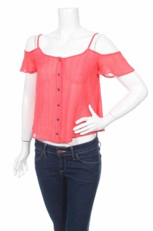 Дамска риза Atmosphere, Размер M, Цвят Червен, Полиестер, Цена 7,48лв.