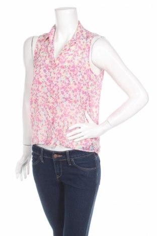 Дамска риза Bershka, Размер M, Цвят Многоцветен, 100% полиестер, Цена 4,00лв.