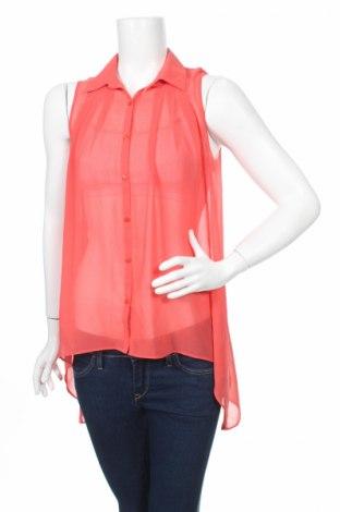 Дамска риза Forever New, Размер M, Цвят Червен, 100% полиестер, Цена 4,59лв.