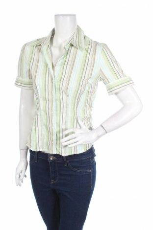 Дамска риза New York & Company, Размер S, Цвят Многоцветен, 66% памук, 28% полиамид, 5% еластан, 1% други тъкани, Цена 3,50лв.