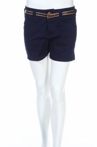 Γυναικείο κοντό παντελόνι C'est Toi, Μέγεθος M, Χρώμα Μπλέ, 98% βαμβάκι, 2% ελαστάνη, Τιμή 8,44€