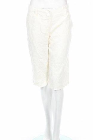 Γυναικείο κοντό παντελόνι Rw & Co., Μέγεθος M, Χρώμα Εκρού, Λινό, Τιμή 3,27€