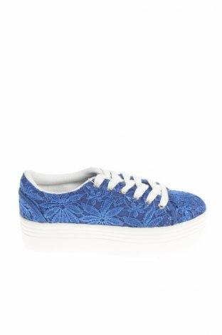 Γυναικεία παπούτσια Florens, Μέγεθος 36, Χρώμα Μπλέ, Κλωστοϋφαντουργικά προϊόντα, Τιμή 17,01€