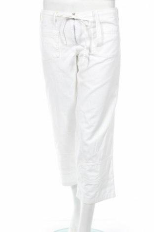 Дамски панталон American Retro, Размер M, Цвят Бял, 100% памук, Цена 50,70лв.