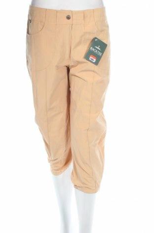 Дамски панталон Backtee, Размер M, Цвят Бежов, 60% полиестер, 40% памук, Цена 11,44лв.