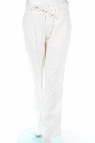 Γυναικείο παντελόνι East West, Μέγεθος XS, Χρώμα  Μπέζ, 55% λινό, 45% βαμβάκι, Τιμή 3,13€
