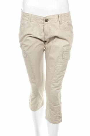 Дамски панталон Fishbone, Размер M, Цвят Бежов, Памук, Цена 6,25лв.