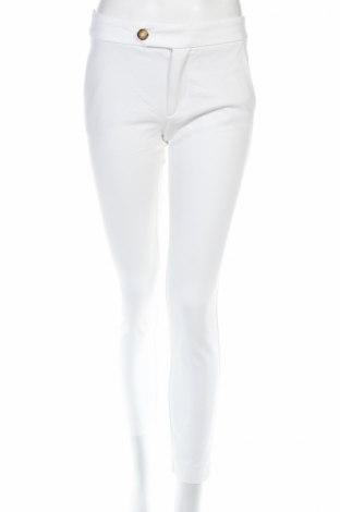 Γυναικείο παντελόνι Mango, Μέγεθος S, Χρώμα Λευκό, Τιμή 8,04€