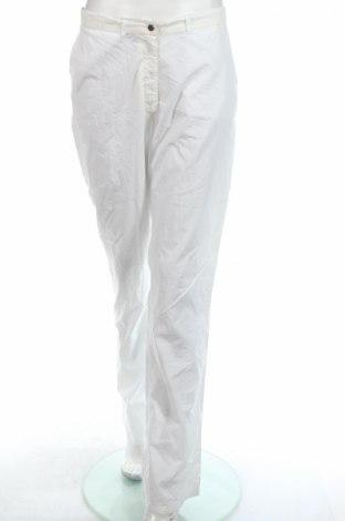 Дамски панталон PLOUMANAC'H, Размер L, Цвят Бял, Памук, Цена 17,16лв.