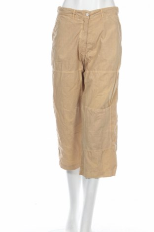 Дамски панталон PLOUMANAC'H, Размер M, Цвят Бежов, Памук, Цена 20,15лв.