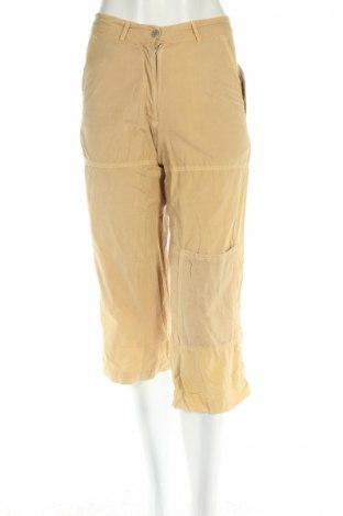Дамски панталон PLOUMANAC'H, Размер S, Цвят Бежов, 100% памук, Цена 20,15лв.