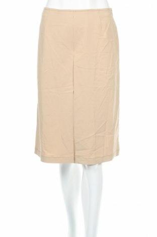 Дамски панталон PLOUMANAC'H, Размер M, Цвят Бежов, 62% вискоза, 35% полиестер, 3% еластан, Цена 22,10лв.