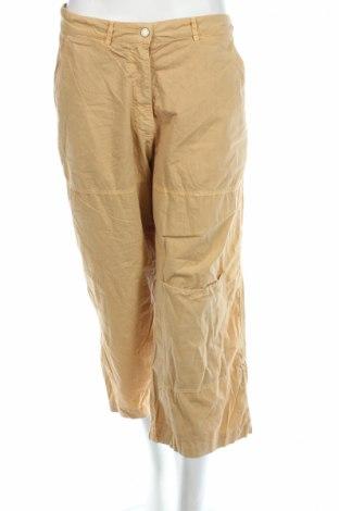 Дамски панталон PLOUMANAC'H, Размер L, Цвят Бежов, Памук, Цена 67,85лв.