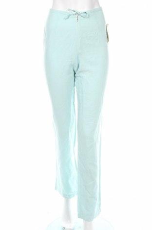 Дамски панталон PLOUMANAC'H, Размер XS, Цвят Син, 55% лен, 45% памук, Цена 21,32лв.