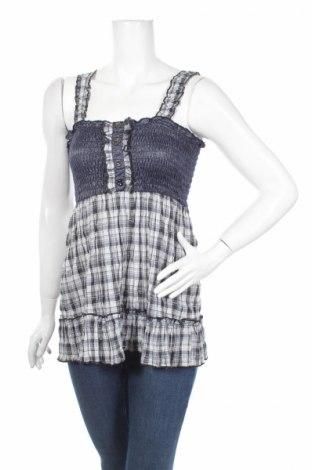 Γυναικείο αμάνικο μπλουζάκι Azaka, Μέγεθος M, Χρώμα Πολύχρωμο, 65% βαμβάκι, 35% πολυεστέρας, Τιμή 2,63€