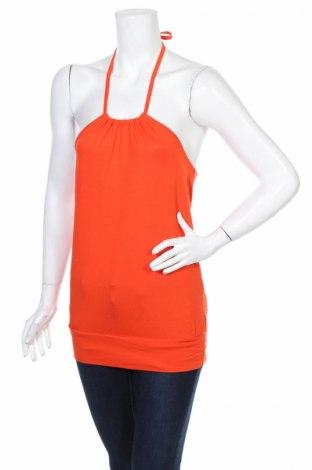 Γυναικείο αμάνικο μπλουζάκι Bodyflirt, Μέγεθος XS, Χρώμα Πορτοκαλί, 95% βισκόζη, 5% ελαστάνη, Τιμή 3,59€