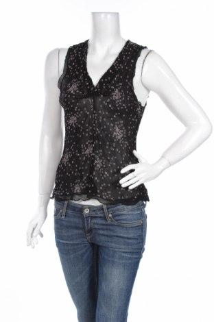 Γυναικείο αμάνικο μπλουζάκι Bon'a Parte, Μέγεθος L, Χρώμα Μαύρο, Βισκόζη, Τιμή 2,32€