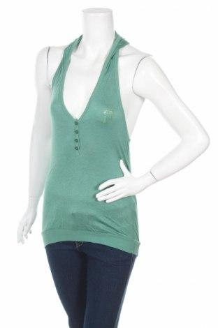 Дамски потник Fashion Elle, Размер S, Цвят Зелен, 95% памук, 5% еластан, Цена 4,59лв.