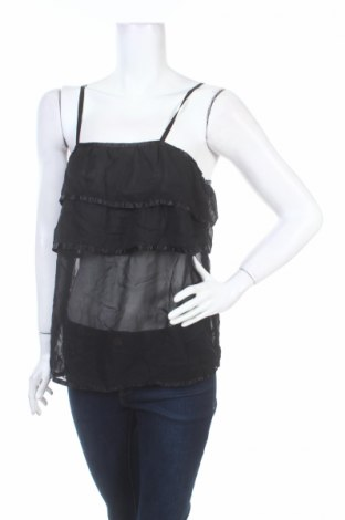 Γυναικείο αμάνικο μπλουζάκι Girl Xpress, Μέγεθος M, Χρώμα Μαύρο, Πολυεστέρας, Τιμή 4,11€