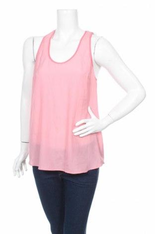 Γυναικείο αμάνικο μπλουζάκι Jacob, Μέγεθος L, Χρώμα Ρόζ , Πολυεστέρας, Τιμή 3,13€