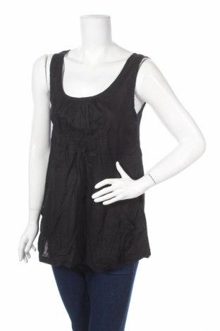Γυναικείο αμάνικο μπλουζάκι Mia Linea, Μέγεθος M, Χρώμα Μαύρο, Τιμή 2,48€