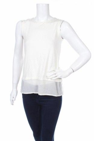 Γυναικείο αμάνικο μπλουζάκι Petite, Μέγεθος L, Χρώμα Λευκό, 66% βισκόζη, 31% πολυεστέρας, 3% ελαστάνη, Τιμή 3,69€