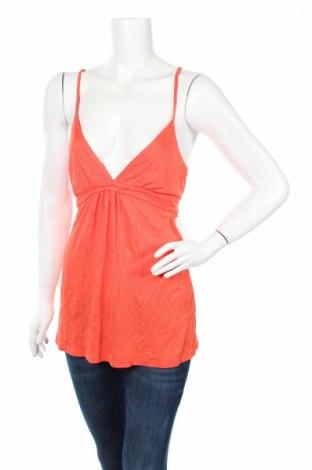 Γυναικείο αμάνικο μπλουζάκι Girl Xpress, Μέγεθος L, Χρώμα Πορτοκαλί, Βισκόζη, Τιμή 2,81€