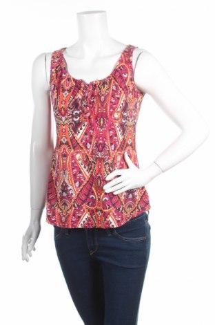 Γυναικείο αμάνικο μπλουζάκι Street One, Μέγεθος S, Χρώμα Πολύχρωμο, 100% βαμβάκι, Τιμή 2,78€