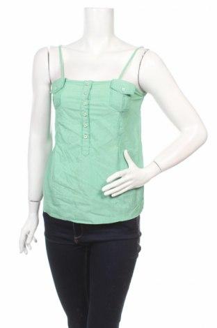 Дамски потник Tiffosi, Размер M, Цвят Зелен, 70% памук, 30% полиестер, Цена 3,42лв.
