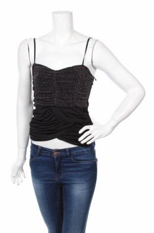 Γυναικείο αμάνικο μπλουζάκι Vert De Rage, Μέγεθος XS, Χρώμα Μαύρο, Τιμή 1,59€