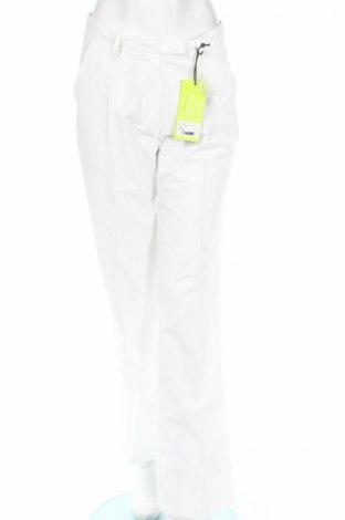 Дамски спортен панталон, Размер L, Цвят Бял, 100% полиестер, Цена 11,80лв.