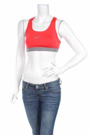 Dámsky športový top  Nike, Veľkosť M, Farba Červená, 90% polyester, 10% elastan, Cena  8,42€
