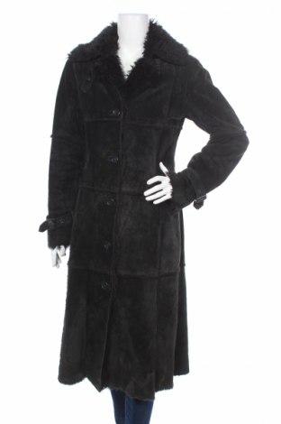 Δερμάτινο γυναικείο παλτό H&M
