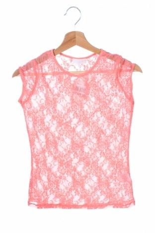 Детска блуза Charles Vogele, Размер 12-13y/ 158-164 см, Цвят Розов, 858% полиамид, 15% еластан, Цена 4,25лв.