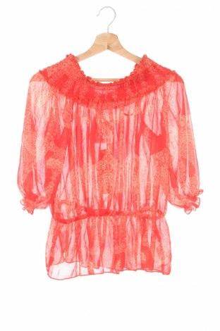 Детска блуза Gum, Размер 14-15y/ 168-170 см, Цвят Червен, Полиестер, Цена 9,25лв.
