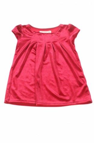 Детска блуза H&M L.o.g.g, Размер 18-24m/ 86-98 см, Цвят Червен, 95% полиестер, 5% еластан, Цена 5,72лв.