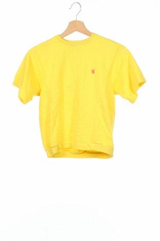 Детска блуза Mauro Grifoni, Размер 7-8y/ 128-134 см, Цвят Жълт, 95% памук, 5% еластан, Цена 25,20лв.
