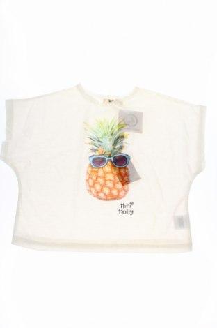 Παιδική μπλούζα Mini Molly, Μέγεθος 4-5y/ 110-116 εκ., Χρώμα Λευκό, 100% πολυεστέρας, Τιμή 20,88€