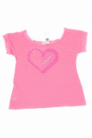 Детска блуза My Collection, Размер 8-9y/ 134-140 см, Цвят Розов, 94% памук, 6% еластан, Цена 31,60лв.