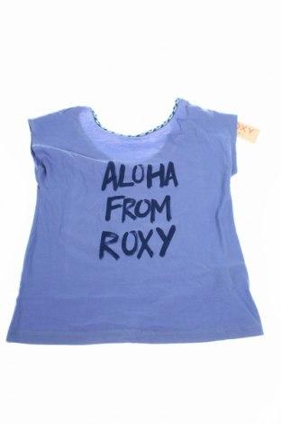 Detská blúzka  Roxy, Veľkosť 11-12y/ 152-158 cm, Farba Modrá, Bavlna, Cena  12,27€