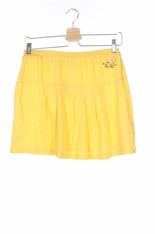 Детска пола Crash One, Размер 15-18y/ 170-176 см, Цвят Жълт, Памук, Цена 3,08лв.