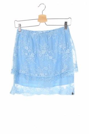 Детска пола L:U L:U By Miss Grant, Размер 12-13y/ 158-164 см, Цвят Син, 70% памук, 30% полиамид, Цена 42,00лв.