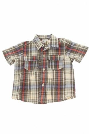 Παιδικό πουκάμισο Juppala, Μέγεθος 1-2m/ 50-56 εκ., Χρώμα Πολύχρωμο, 97% βαμβάκι, 3% ελαστάνη, Τιμή 2,50€