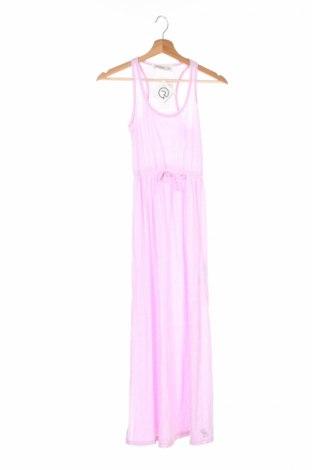 Детска рокля Abercrombie Kids, Размер 12-13y/ 158-164 см, Цвят Розов, 57% памук, 43% полиестер, 97% полиамид, 3% еластан, Цена 20,50лв.