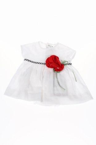 Detské šaty  Aletta, Veľkosť 0-1m/ 50 cm, Farba Biela, Bavlna, Cena  25,36€