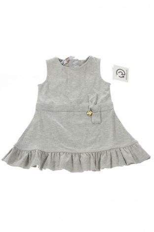 Detské šaty  Harmont & Blaine, Veľkosť 9-12m/ 74-80 cm, Farba Sivá, 70% viskóza, 25% polyamide, 5% elastan, Cena  16,06€