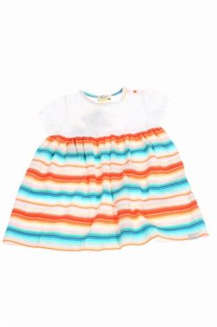 Детска рокля Paul Smith, Размер 6-9m/ 68-74 см, Цвят Бял, 93% памук, 7% еластан, Цена 53,60лв.