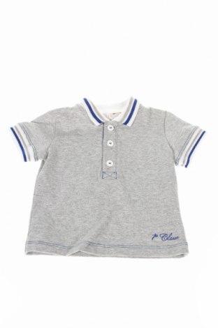 Детска тениска Alviero Martini, Размер 3-6m/ 62-68 см, Цвят Сив, 96% памук, 2% полиамид, 2% еластан, Цена 19,20лв.
