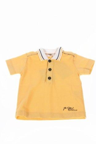 Детска тениска Alviero Martini, Размер 3-6m/ 62-68 см, Цвят Жълт, Памук, Цена 21,60лв.
